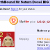 Giant Mr. Saturn Price is Weird
