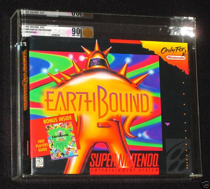 new copy of earthbound for  6000  u00ab earthbound central