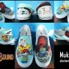 Custom-Painted EarthBound Shoes