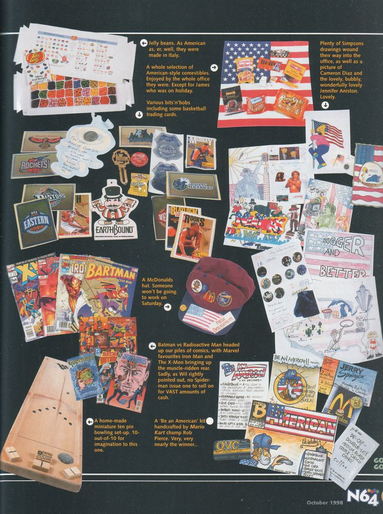 earthbound 64 in n64 magazine  u00ab earthbound central