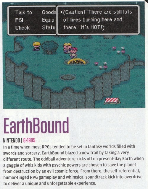 EarthBound Had Best SNES Debut « EarthBound Central