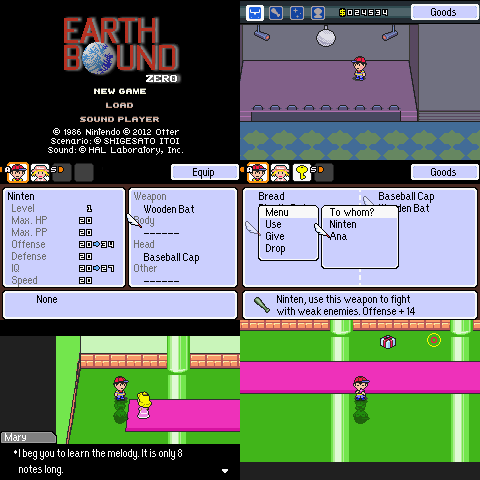 Another EarthBound Zero Remake « EarthBound Central