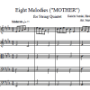 Eight Melodies String Quintet Arrangement