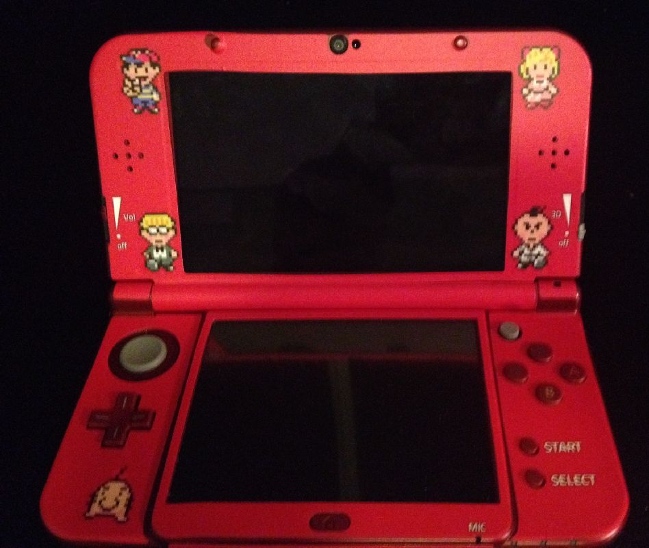 make custom earthbound decals for your 3ds earthbound central