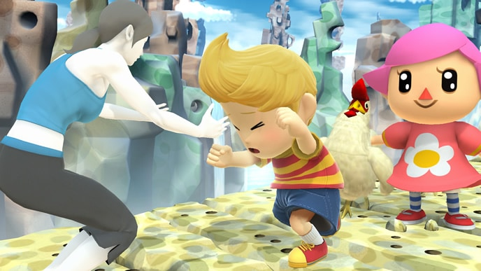 Super Smash Bros  Lucas DLC Details Announced! « EarthBound