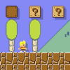Lucas Seen in Super Mario Maker