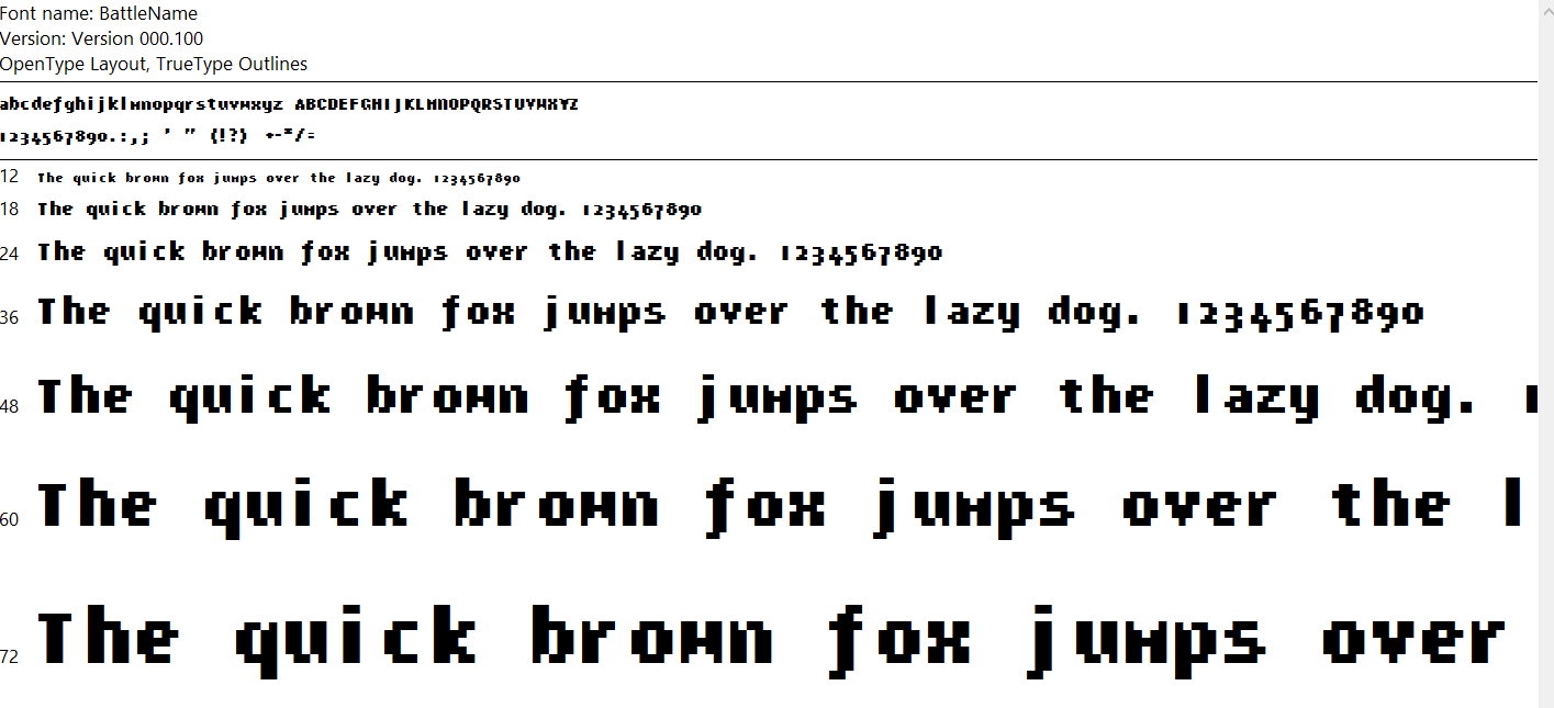 The Earthbound Battle Font For Your Computer Earthbound Central
