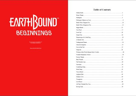 37 EarthBound Beginnings Tunes in Sheet Music Form