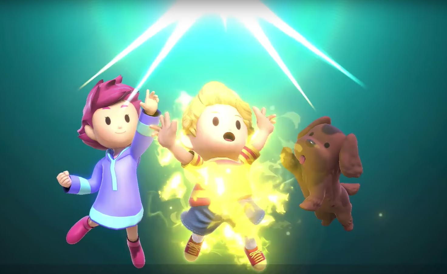 Old Friends Join Ness and Lucas in New Final Smash Attacks